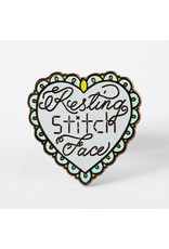 Punky Pins Pin Resting Stitch Face