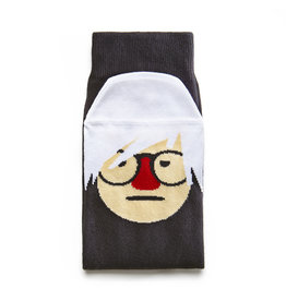 Chatty Feet Character Socks, Andy Sock-Hole