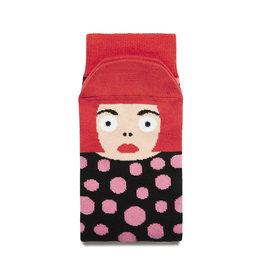 Chatty Feet Character Socks, Yayoi Toesama