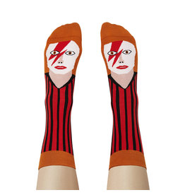 Chatty Feet Character Socks, David Toewie