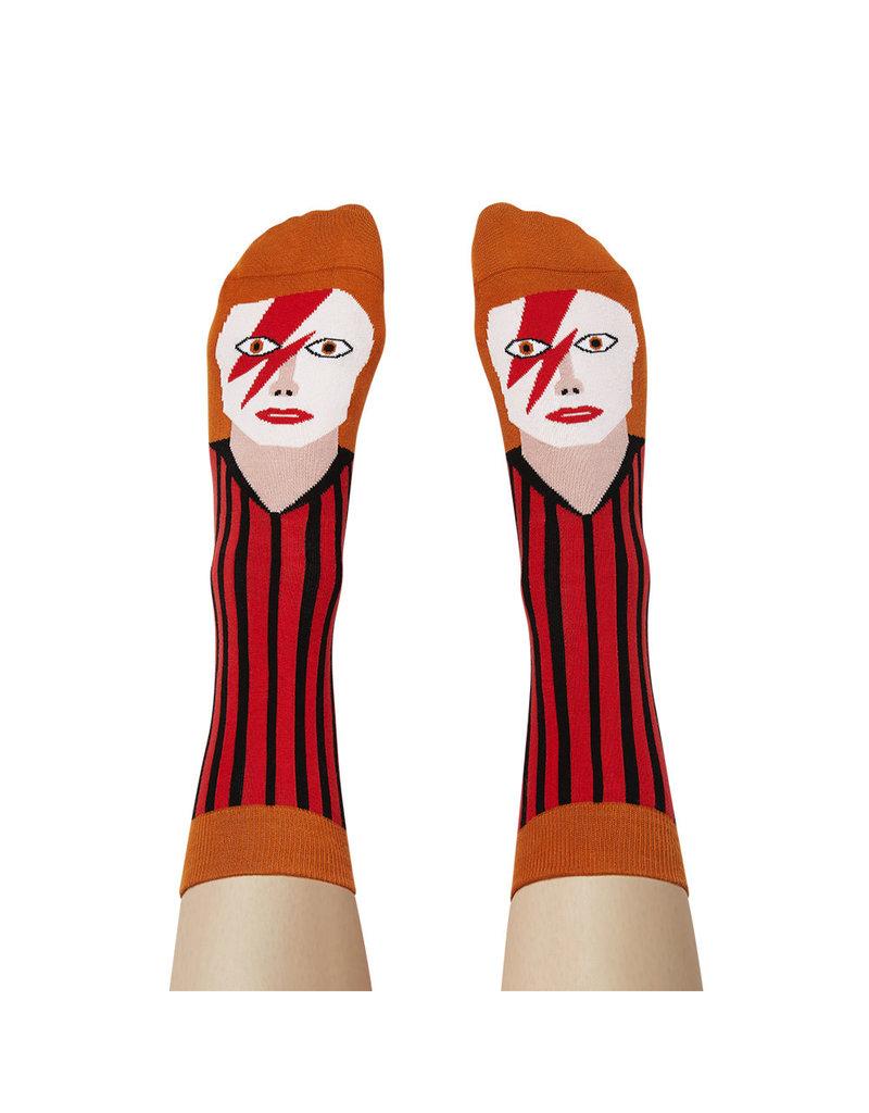 Chatty Feet Character Socks, David Toewie