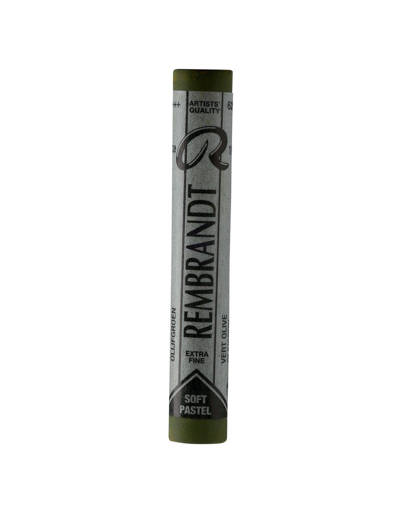 Talens Rembrandt Pastel Olive Green 620.5