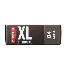 Derwent Xl Block Charcoal Sepia