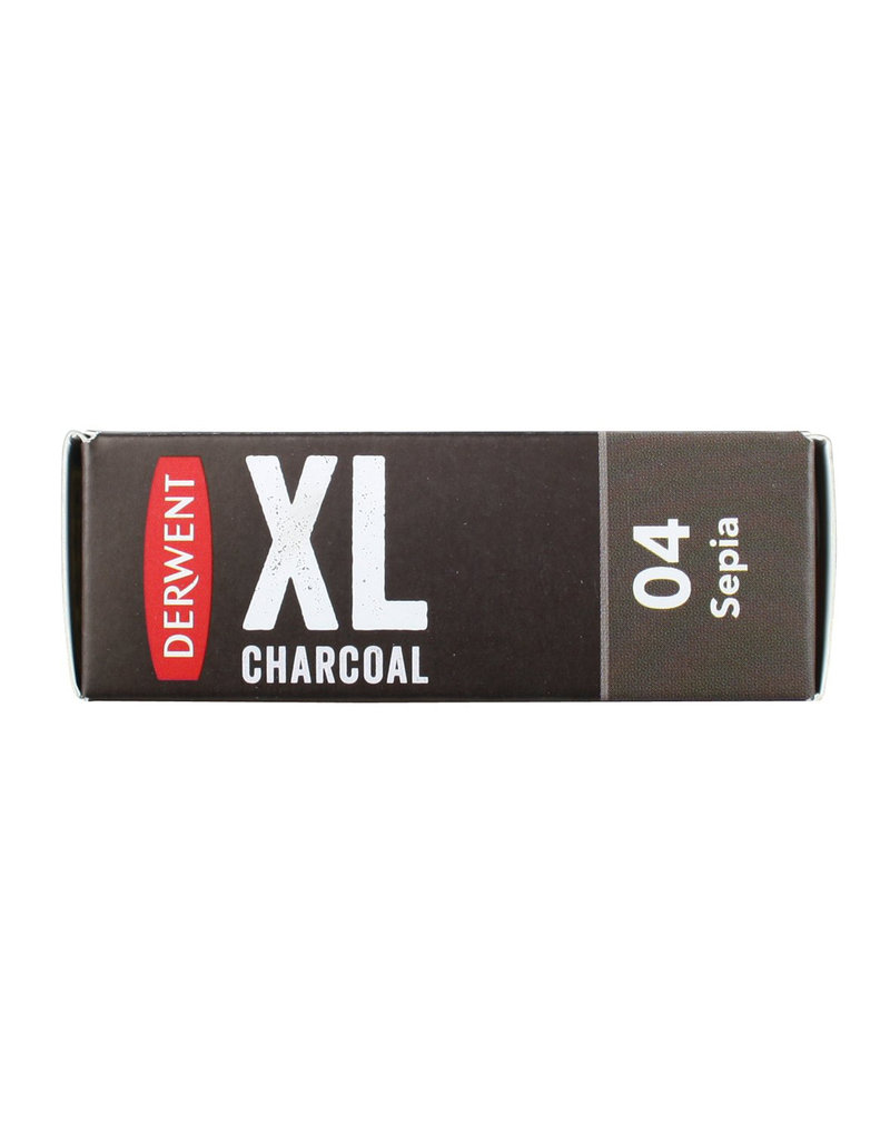 Derwent Xl Block Charcoal Sepia