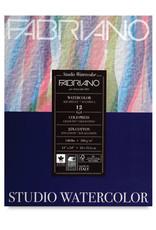 """Fabriano Fabriano Studio Watercolor Pads, Cold-Press, 11"""" x 14"""" 140 lb., 12 Shts./Pad"""