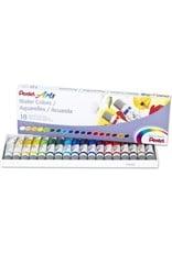 Pentel Watercolor Tube Set Of 18
