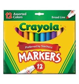 Crayola Crayola Marker Sets, 12-Color Set