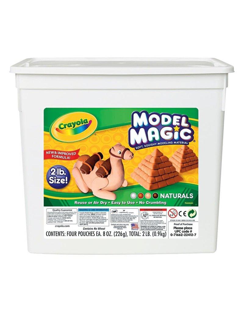 Crayola Model Magic 2Lb Naturals Tub
