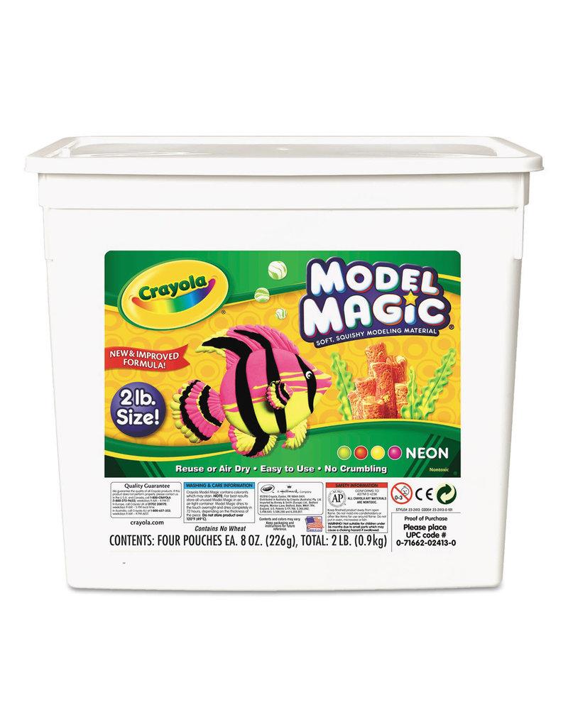 Crayola Model Magic 2Lb Neon