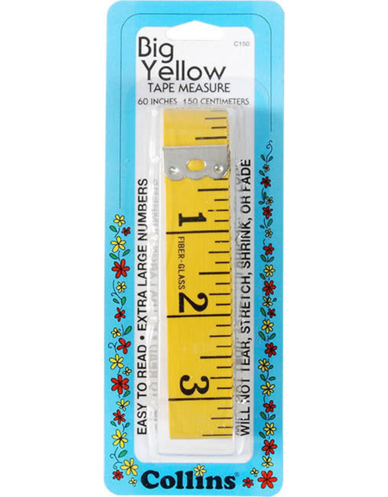 Collins Big Yellow Tape Measure