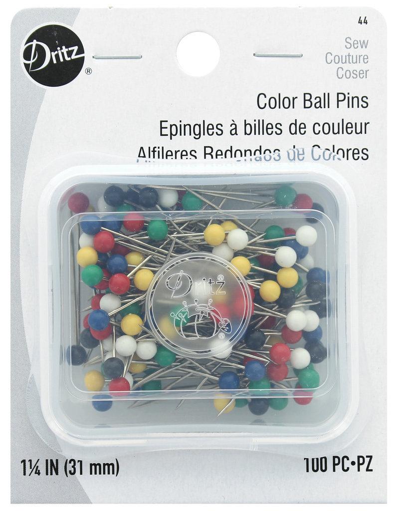 Dritz Color Ball Pins #20