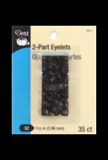 Eyelets Black 5/32''