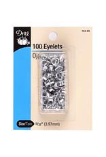 Eyelets Silver 5/32''
