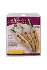 Flexcut 3 Knife Starter Set