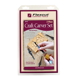 Flexcut Craft Carver Blade Set 5Pc