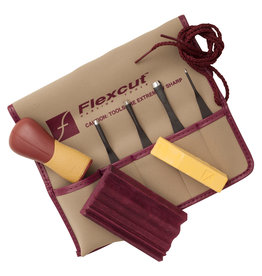 Flexcut Printmaking Carver Set 5Pc