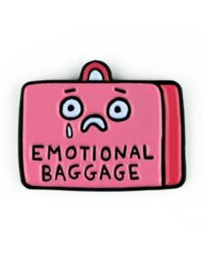 Badge Bomb Enamel Pin Emotional Baggage