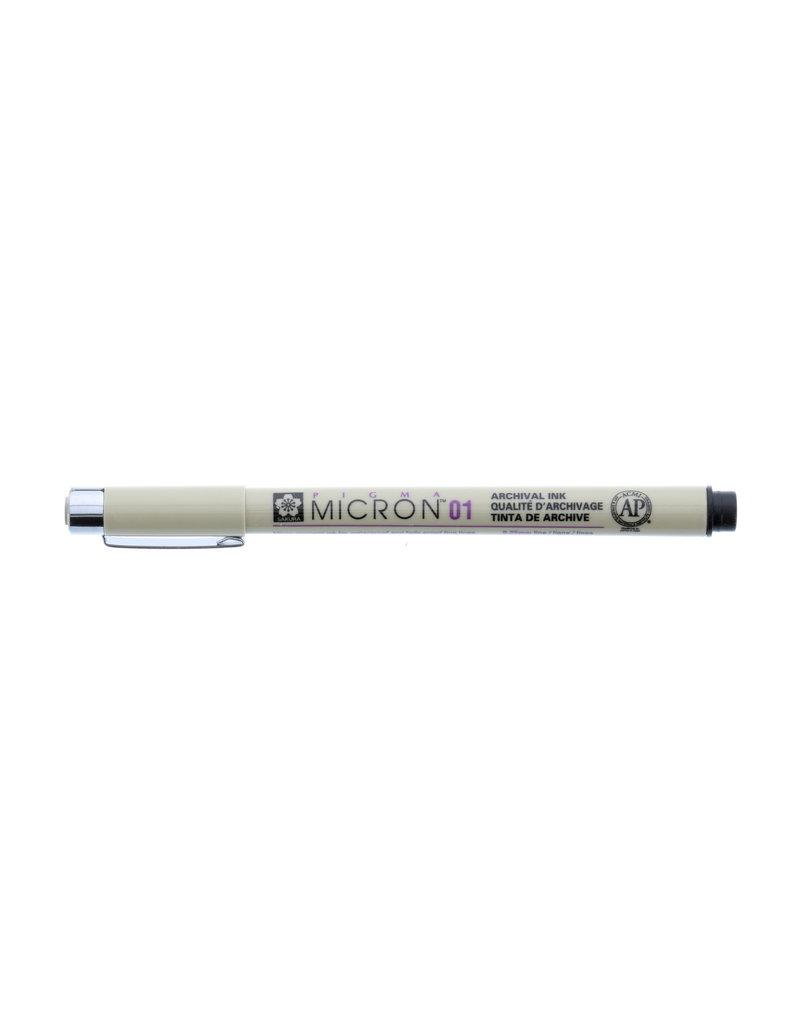 Sakura Micron Pen 01 - .25Mm Black