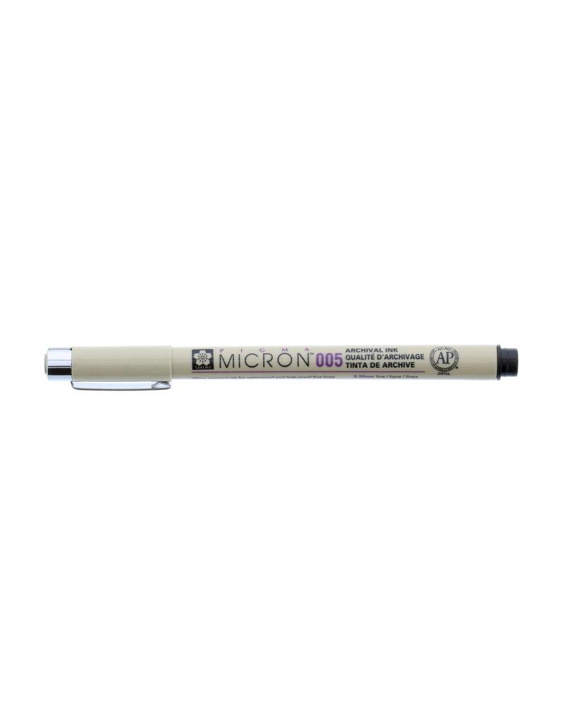 Sakura Micron Pen 005 - .20Mm Black