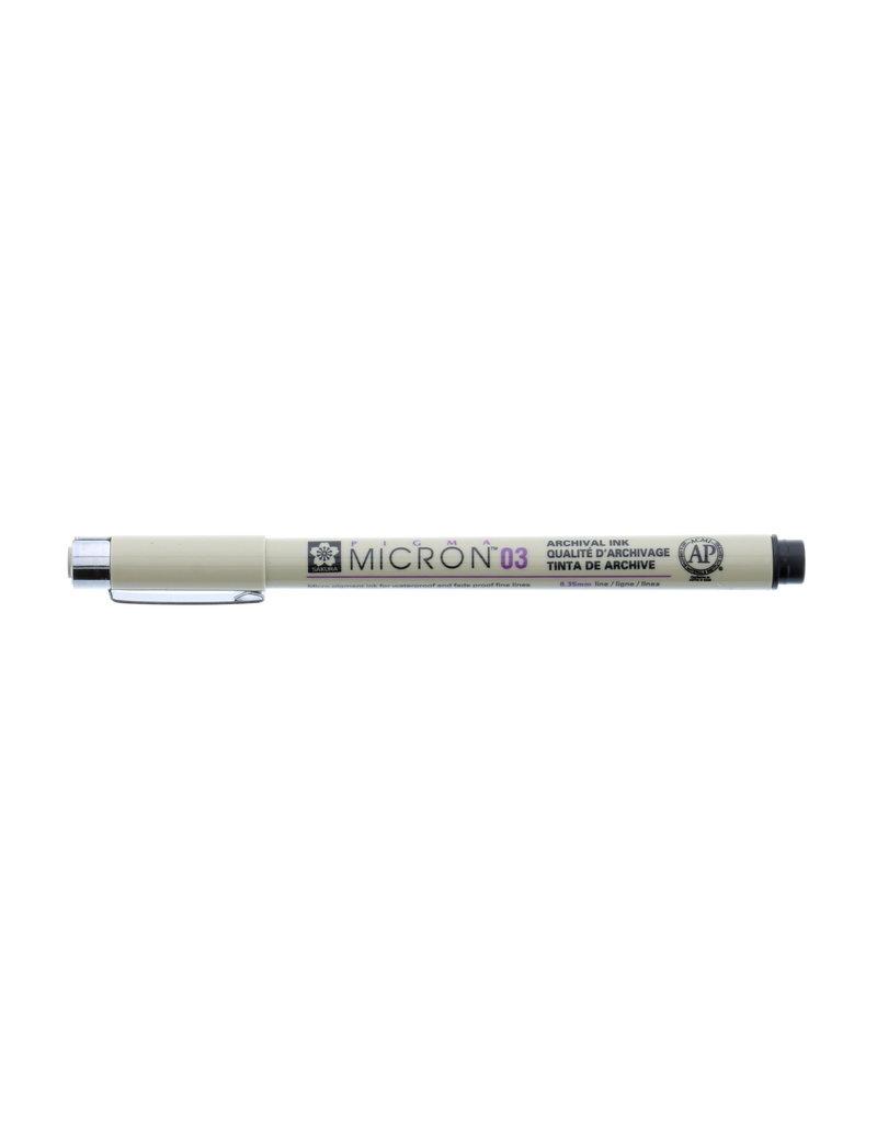 Sakura Micron Pen 03 - .35Mm Black