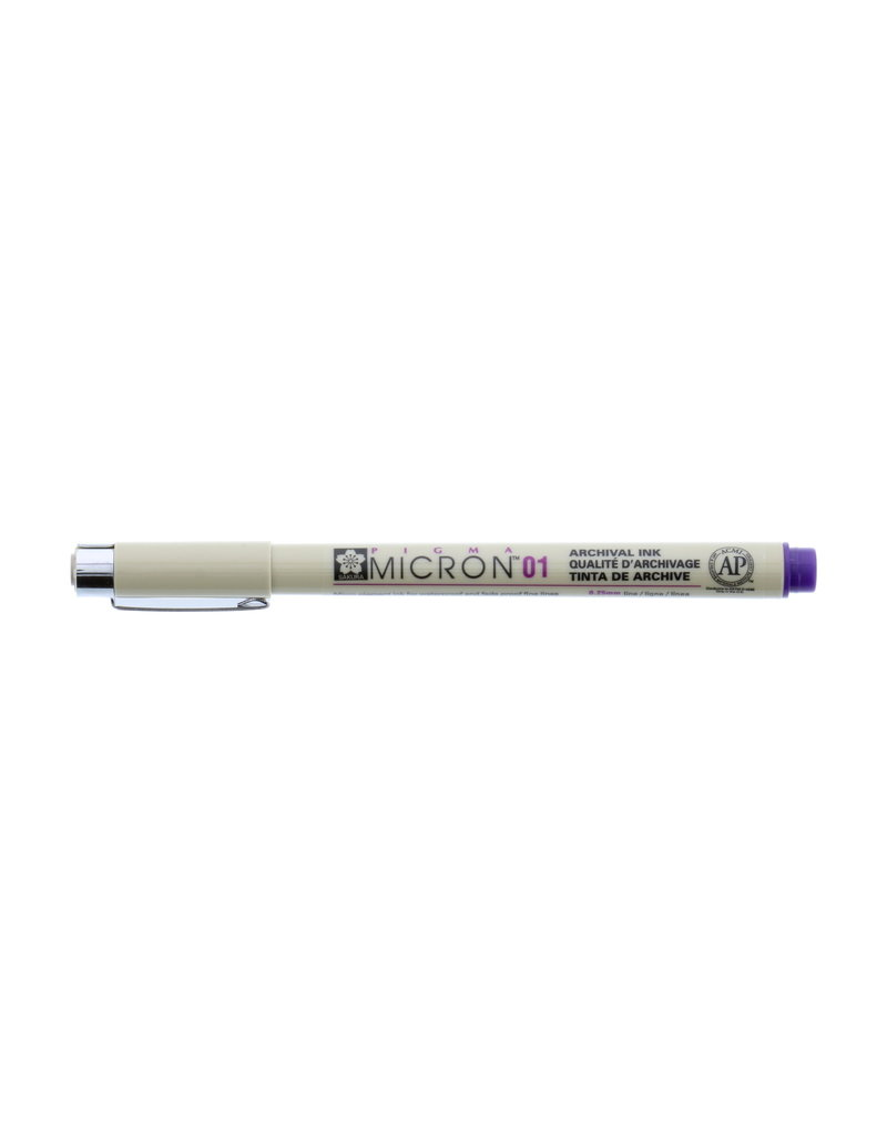 Sakura Micron Pen 01 - .25Mm Purple