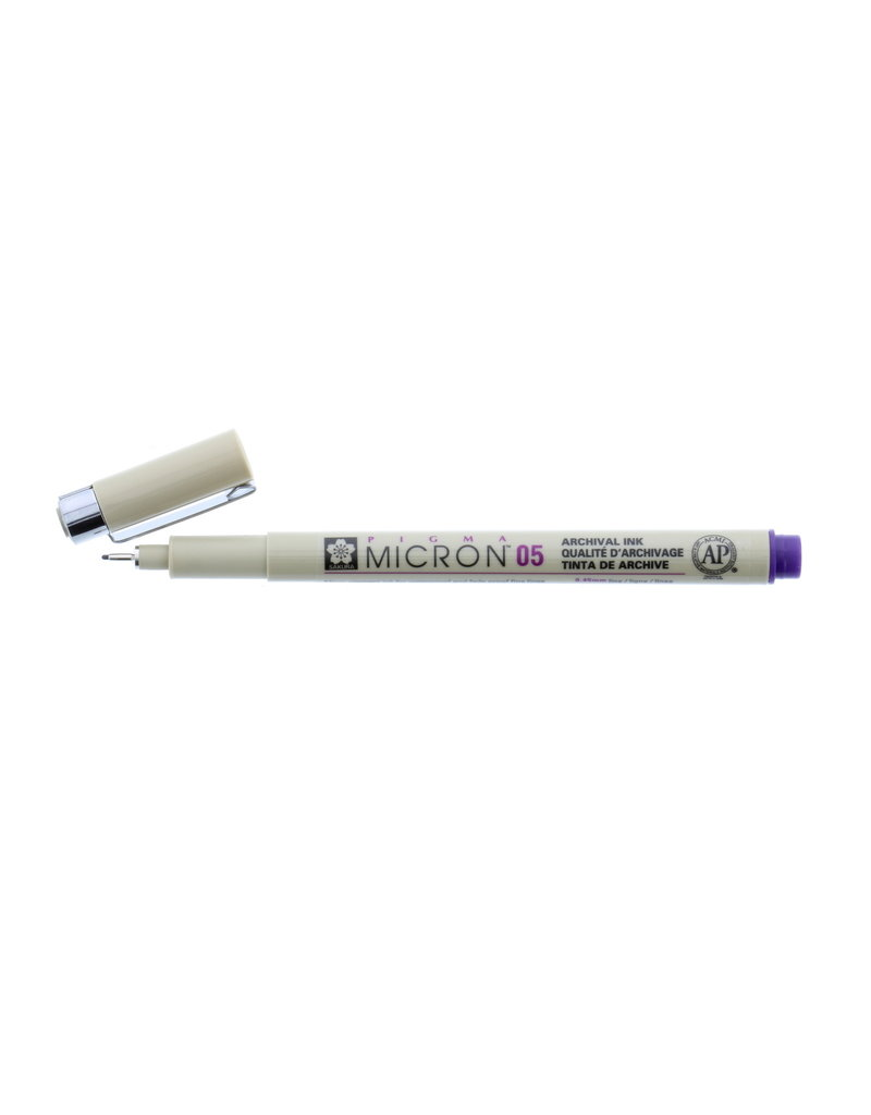 Sakura Micron Pen 05 - .45Mm Purple