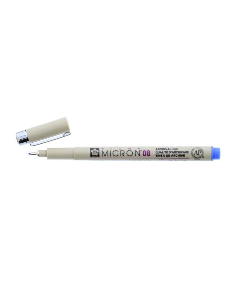 Sakura Micron Pen 08 - .50Mm Blue