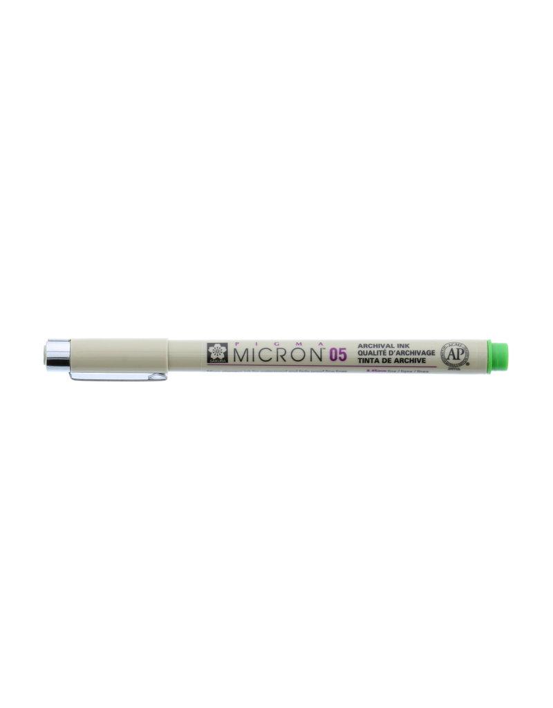 Sakura Micron Pen 05 - .45Mm Forest Green
