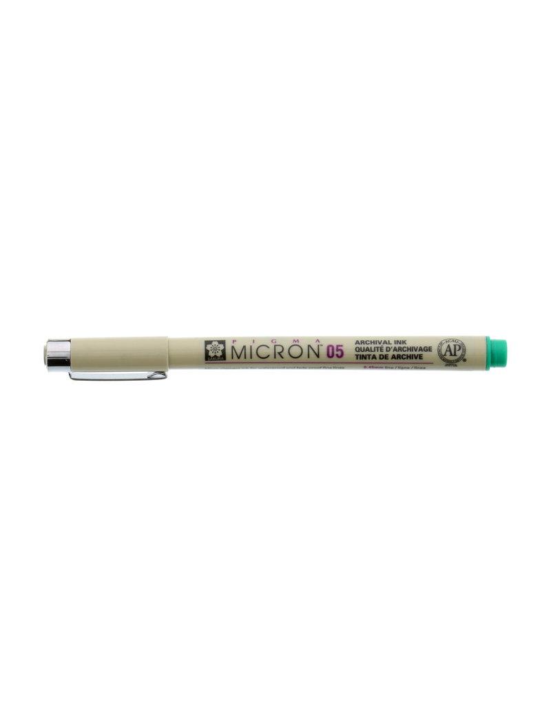 Sakura Micron Pen 05 - .45Mm Green