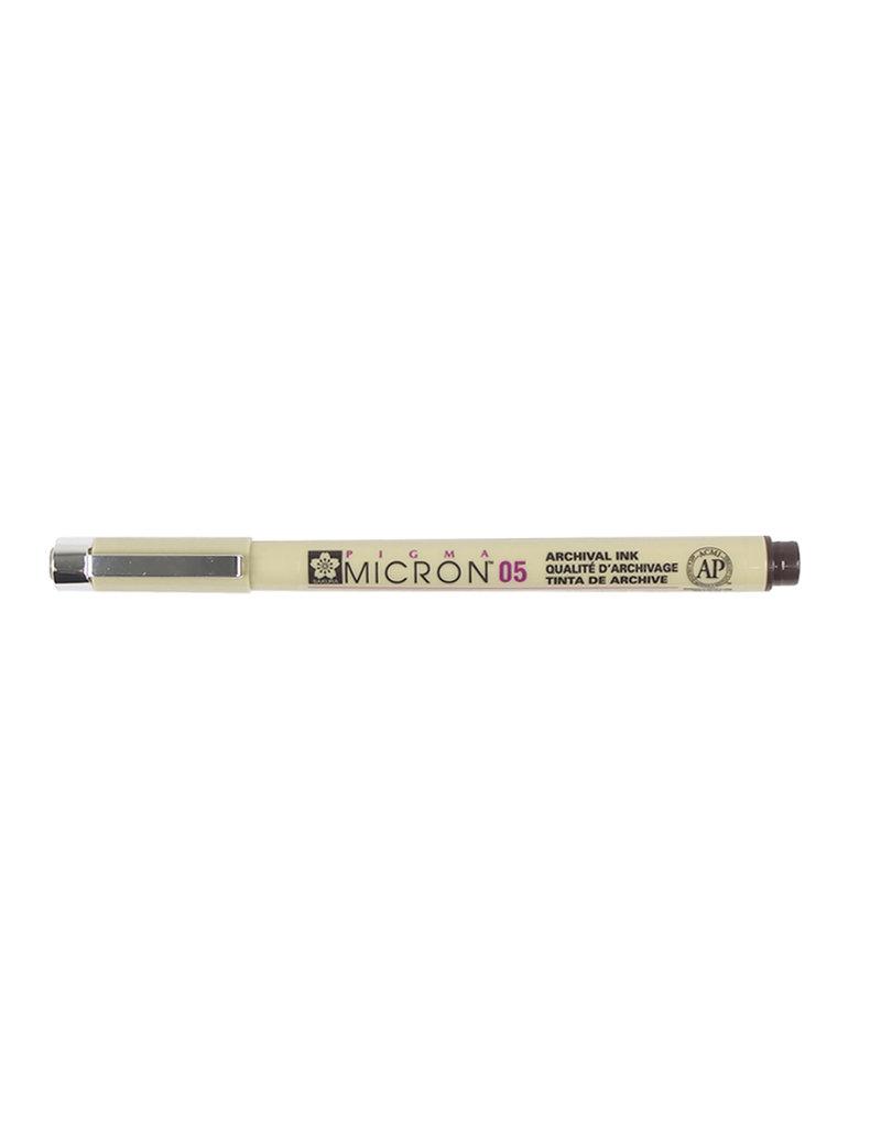 Sakura Micron Pen 05 - .45Mm Sepia