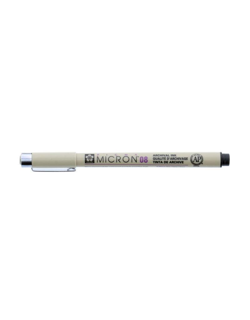 Sakura Micron Pen 08 - .50Mm Black