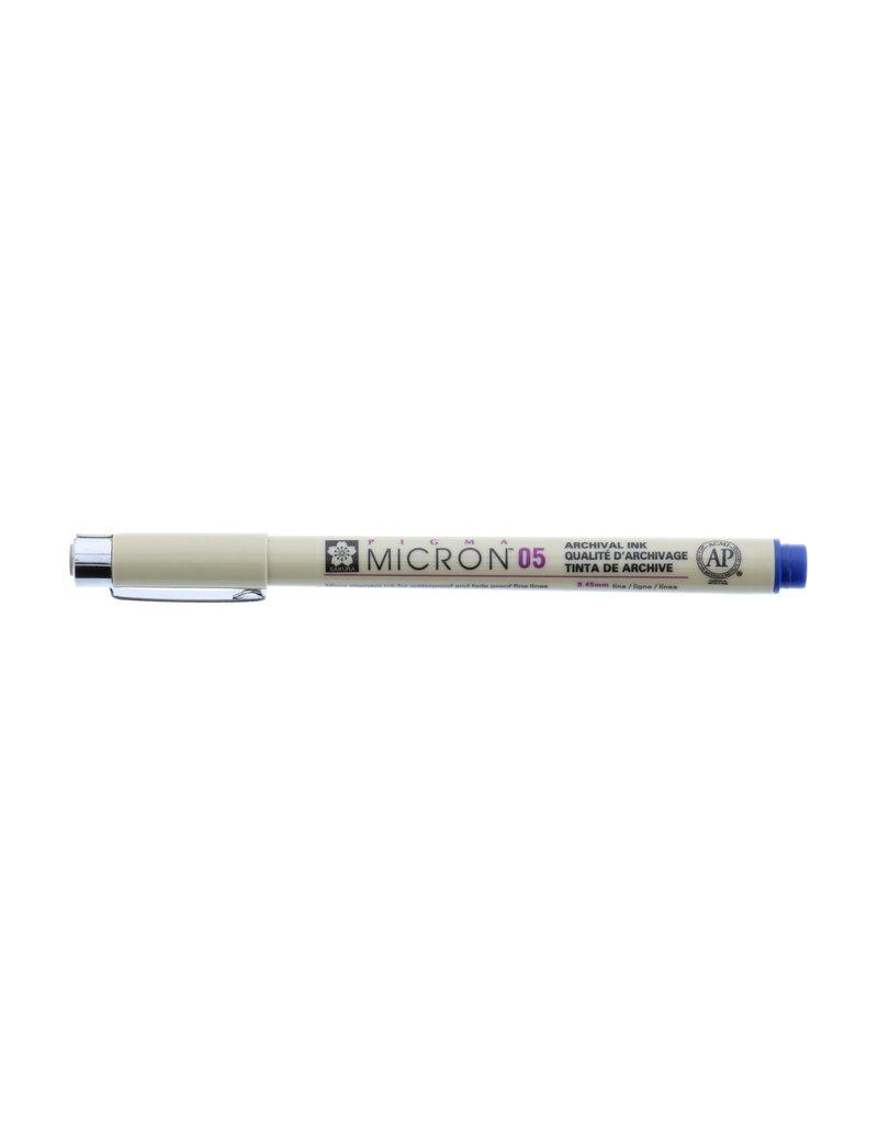 Sakura Micron Pen 05 - .45Mm Royal Blue