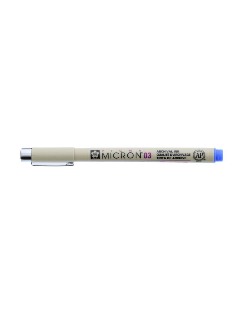Sakura Micron Pen 03 - .35Mm Blue