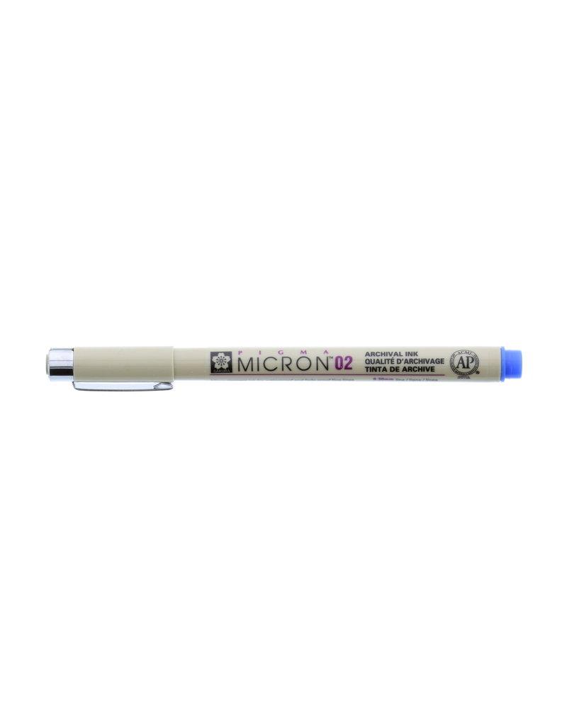 Sakura Micron Pen 02 - .30Mm Blue