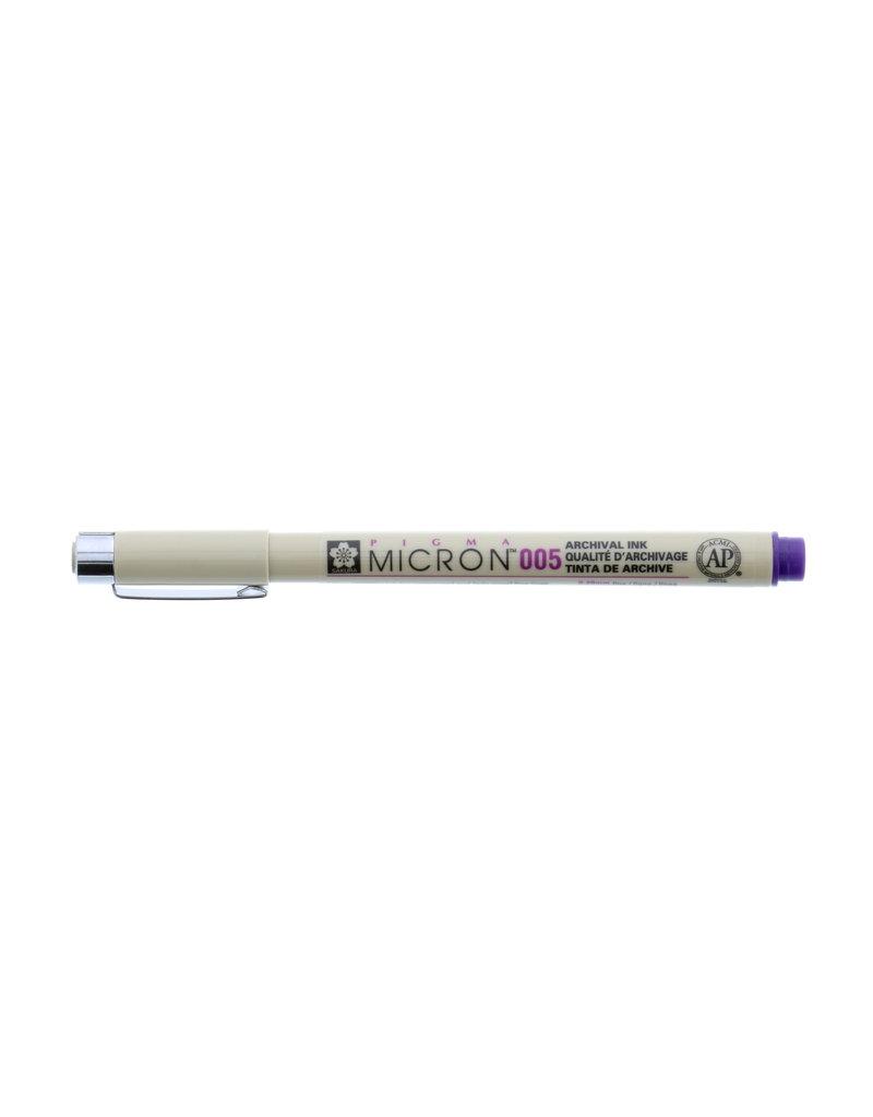 Sakura Micron Pen 005 - .20Mm Purple