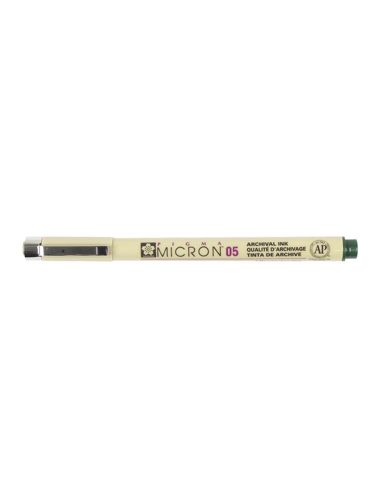Sakura Micron Pen 05 - .45Mm Hunter Green