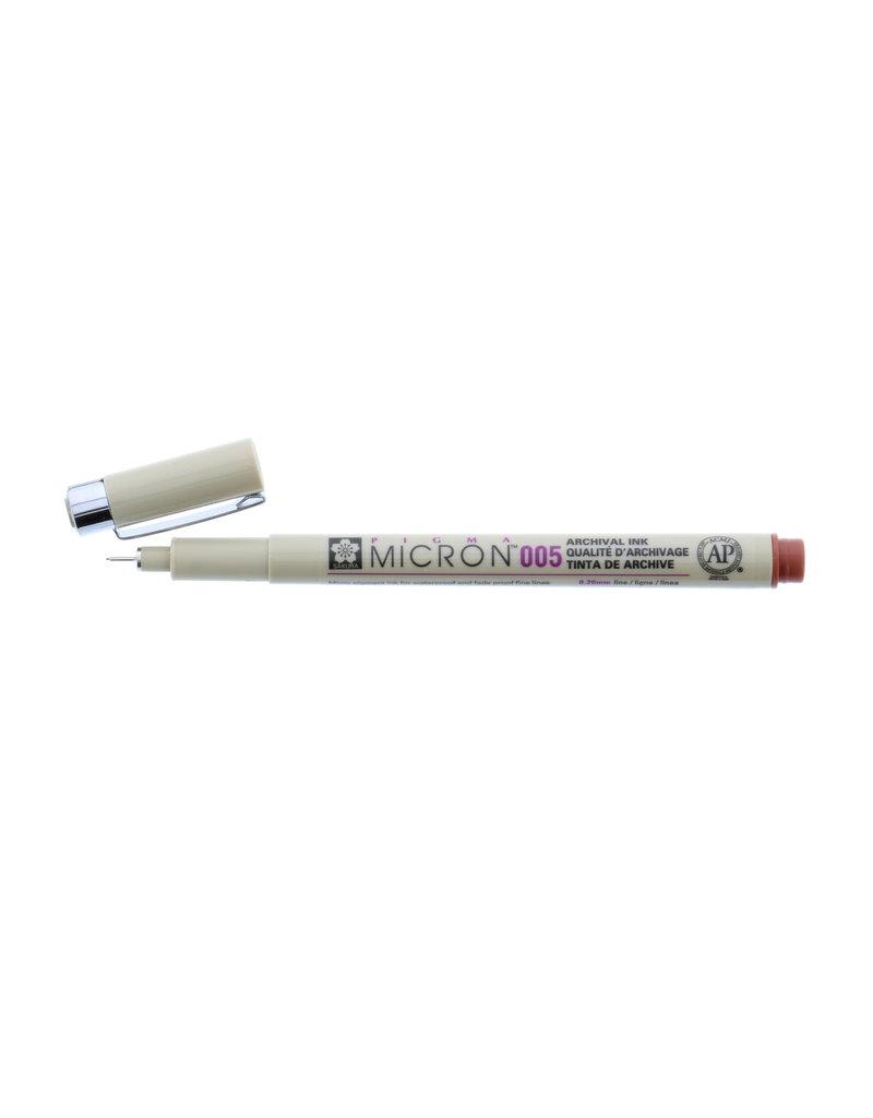 Sakura Micron Pen 005 - .20Mm Brown