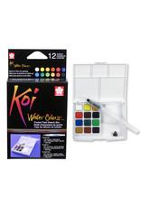Sakura Koi Watercolor Pocket 12 Field Sketch Box