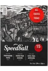 Speedball Speedball Printmaking Paper Pad 11''x14''