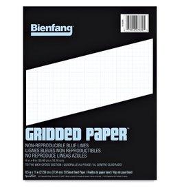 Speedball Bienfang Designer Grid Paper Pad 11x17 -- 8X8 Grid