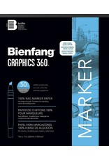 Speedball Bienfang #360 Marker Paper Pad 14x17