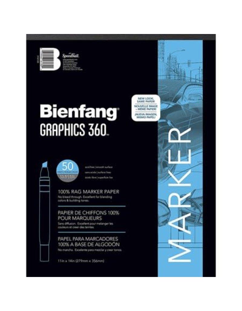 Speedball Bienfang #360 Marker Paper Pad 11x14