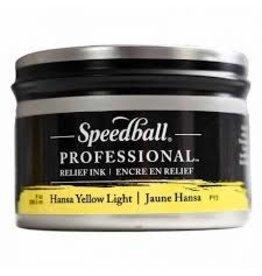 Speedball 8Oz Professional Relief Ink Hansa Yellow Light