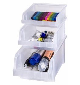 Artbin Stacking Bin Clear Set of 3