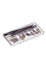 Artbin Pen & Nib Box 7X3-1/2X1