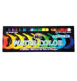 Yasutomo Niji Watercolor Sets, 18-Color Set