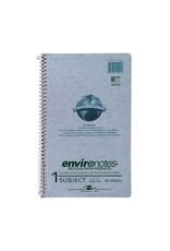 Roaring Springs Recycled Wirebound Notebook - Gray 9.5X6In 80Sht Bulk 1 Subject