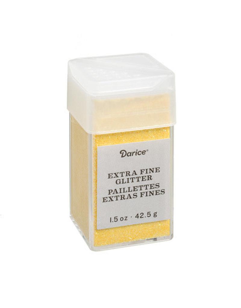 Darice Extra Fine Glitter: Sunflower, 1.5 Ounces