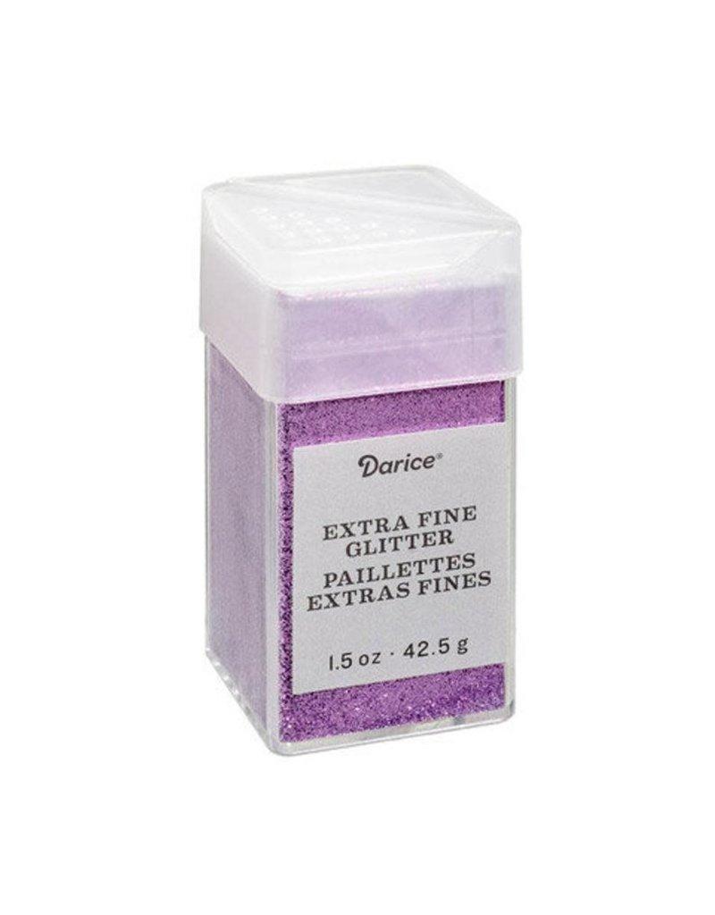 Darice Extra Fine Glitter: Orchid, 1.5 Ounces