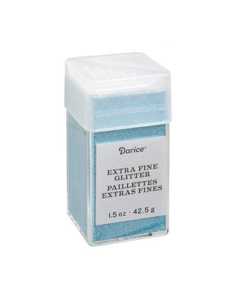 Darice Extra Fine Glitter: Ocean, 1.5 Ounces